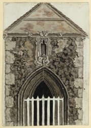 West Entrance to Chalk Ch.[urch] Kent